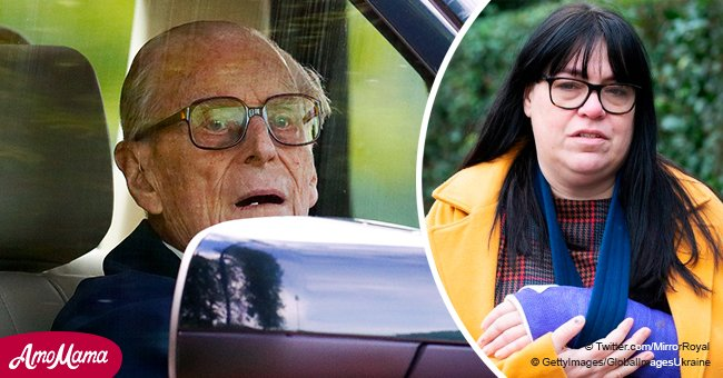 First photos released of woman injured in car crash with Prince Philip