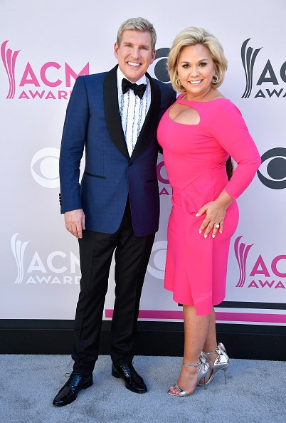 Todd Chrisley and Julie Chrisley at Toshiba Plaza on April 2, 2017 in Las Vegas, Nevada. | Photo: Getty Images