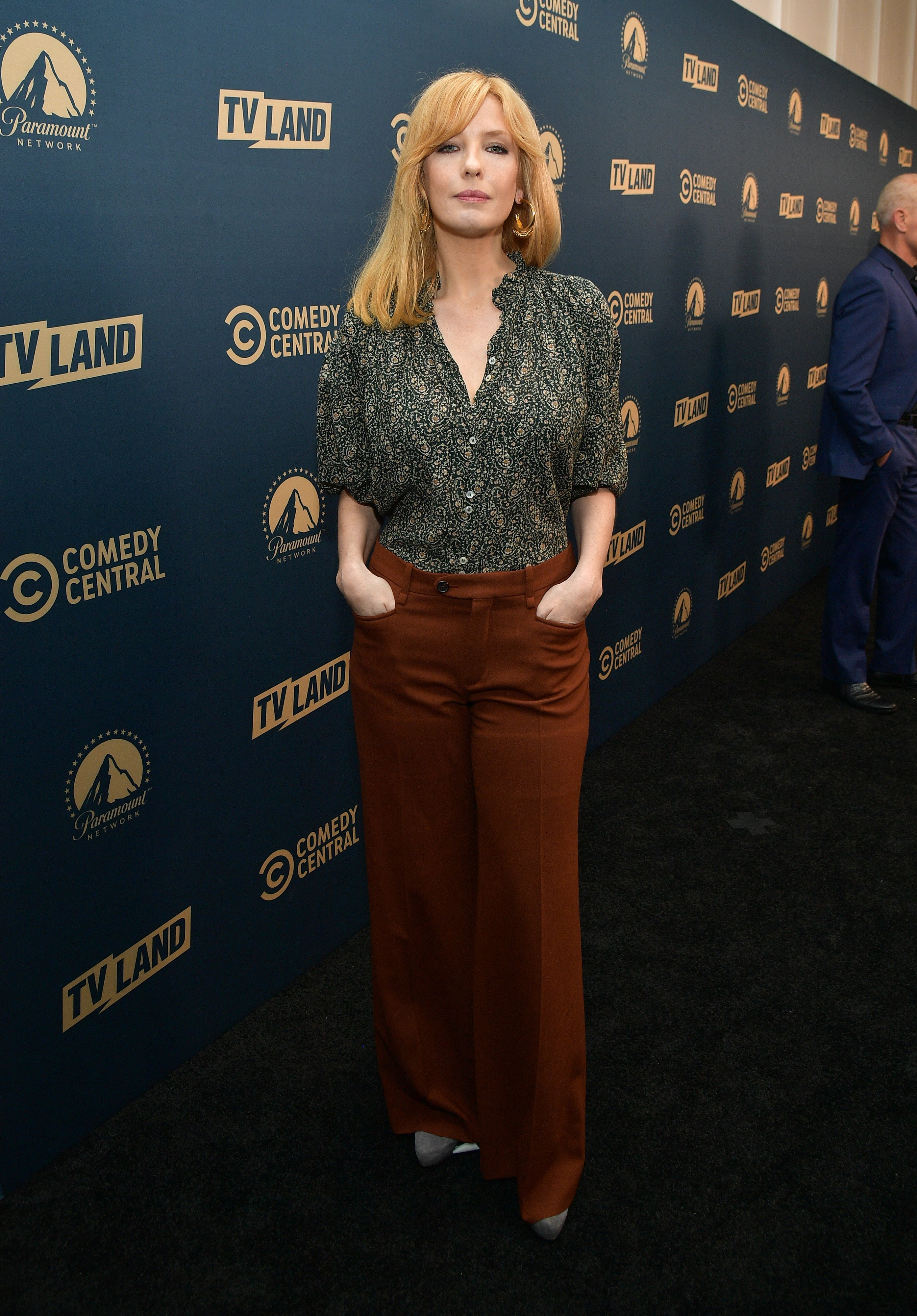 Kelly Reilly pictured at the Comedy Central, Paramount Network and TV Land summer press day, May 2019, California. | Photo: Getty Images