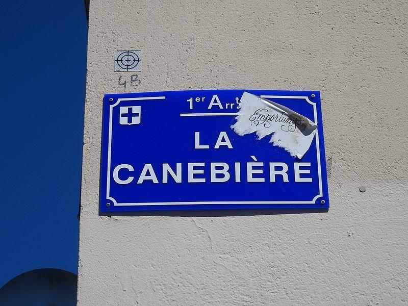 Plaque de rue La Canebière. | Wikimedia Commons