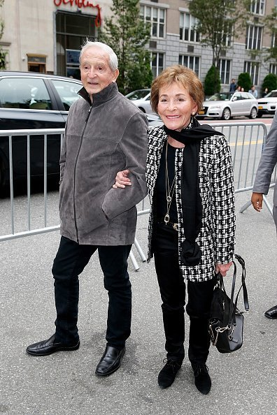 Judge Judy Sheindlin and husband Jerry Sheindlin on October 14, 2018 in New York City | Photo: Getty Images
