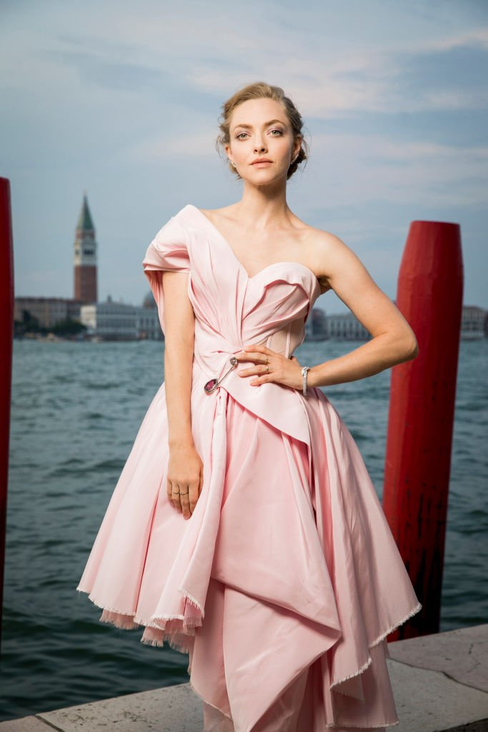 Amanda Seyfried poses for a portrait wearing a Jaeger-LeCoultre watch during the 76th Venice Film Festival | Getty Images