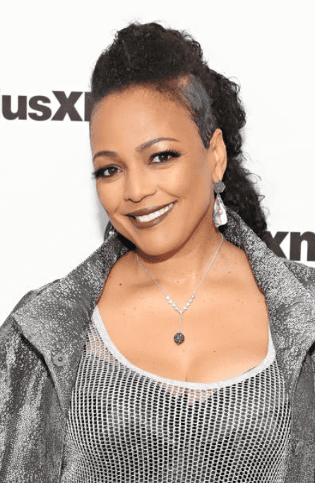 Actress Kim Fields posed for cameras as she arrived at the SiriusXM Studios on November 26, 2019, New York | Source: Cindy Ord/Getty Images