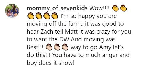 Fan reaction to Amy Roloff leaving Roloff Farms | Photo: Instagram/ AmyJRoloff