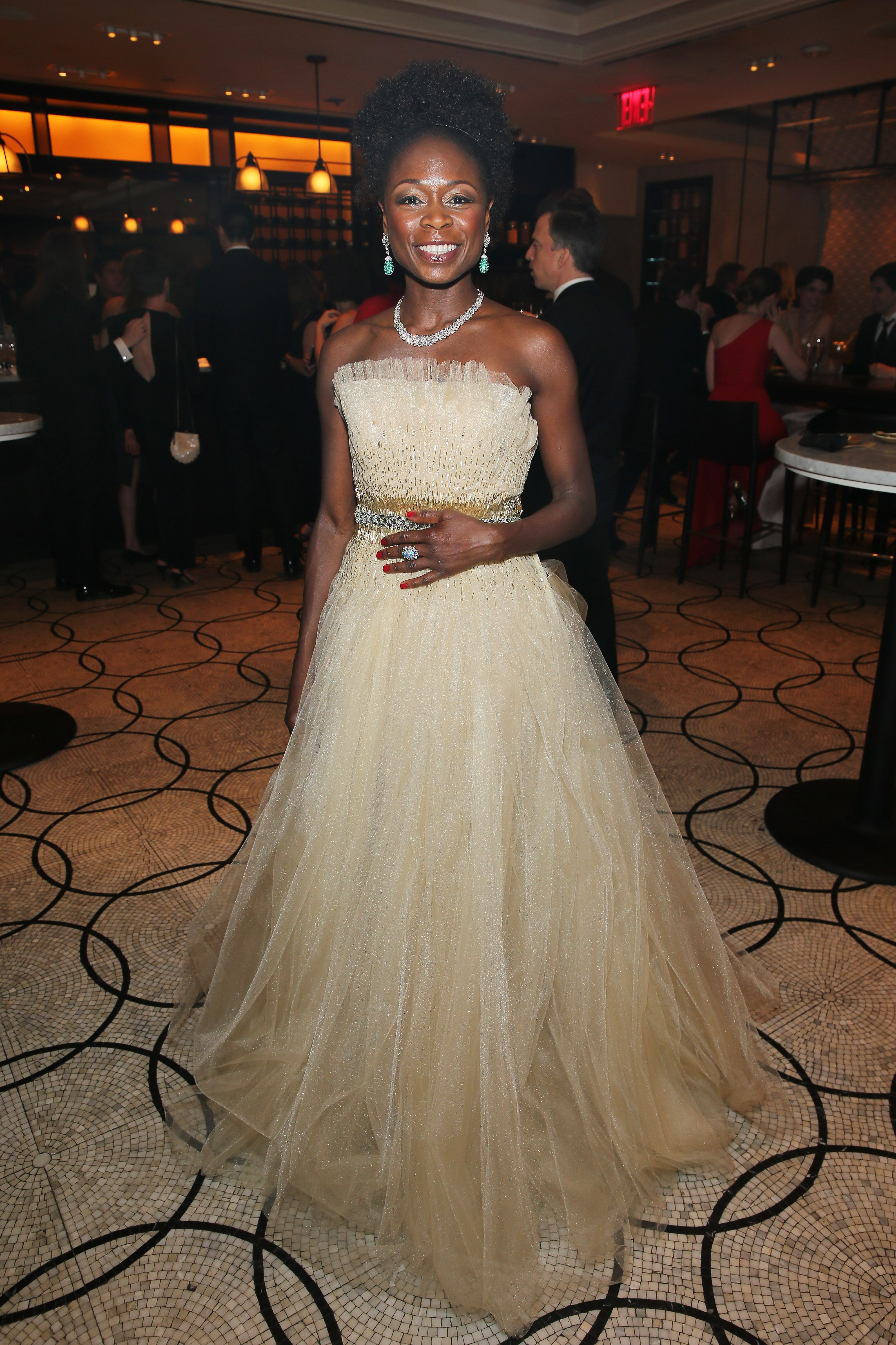 Akosua Busia attends the after party for the 2016 Tony Awards Gala presented by Porsche at the Plaza Hotel on June 12, 2016 in New York City | Photo: Getty Images