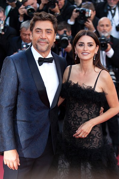 Penelope Cruz and Javier Bardem at Palais des Festivals on May 8, 2018 in Cannes, France. | Photo: Getty Images