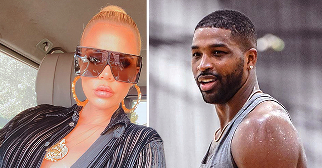 Tristan Thompson Reacts with Heart-Eye Emoji on Khloé's Pic after Her Post about Being Single