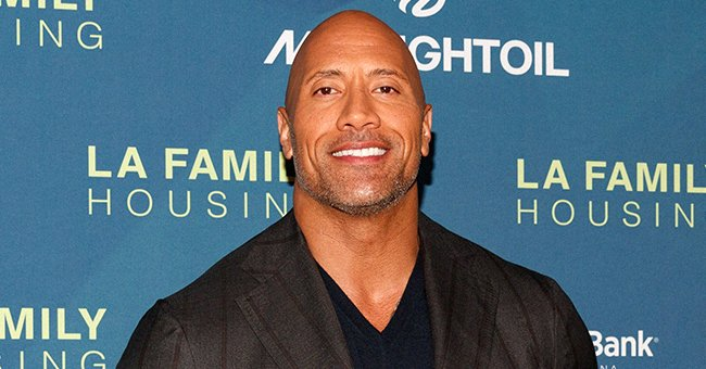 Dwayne Johnson at the LAFH Awards at The Lot in West Hollywood on April 5, 2018. | Photo: Getty Images