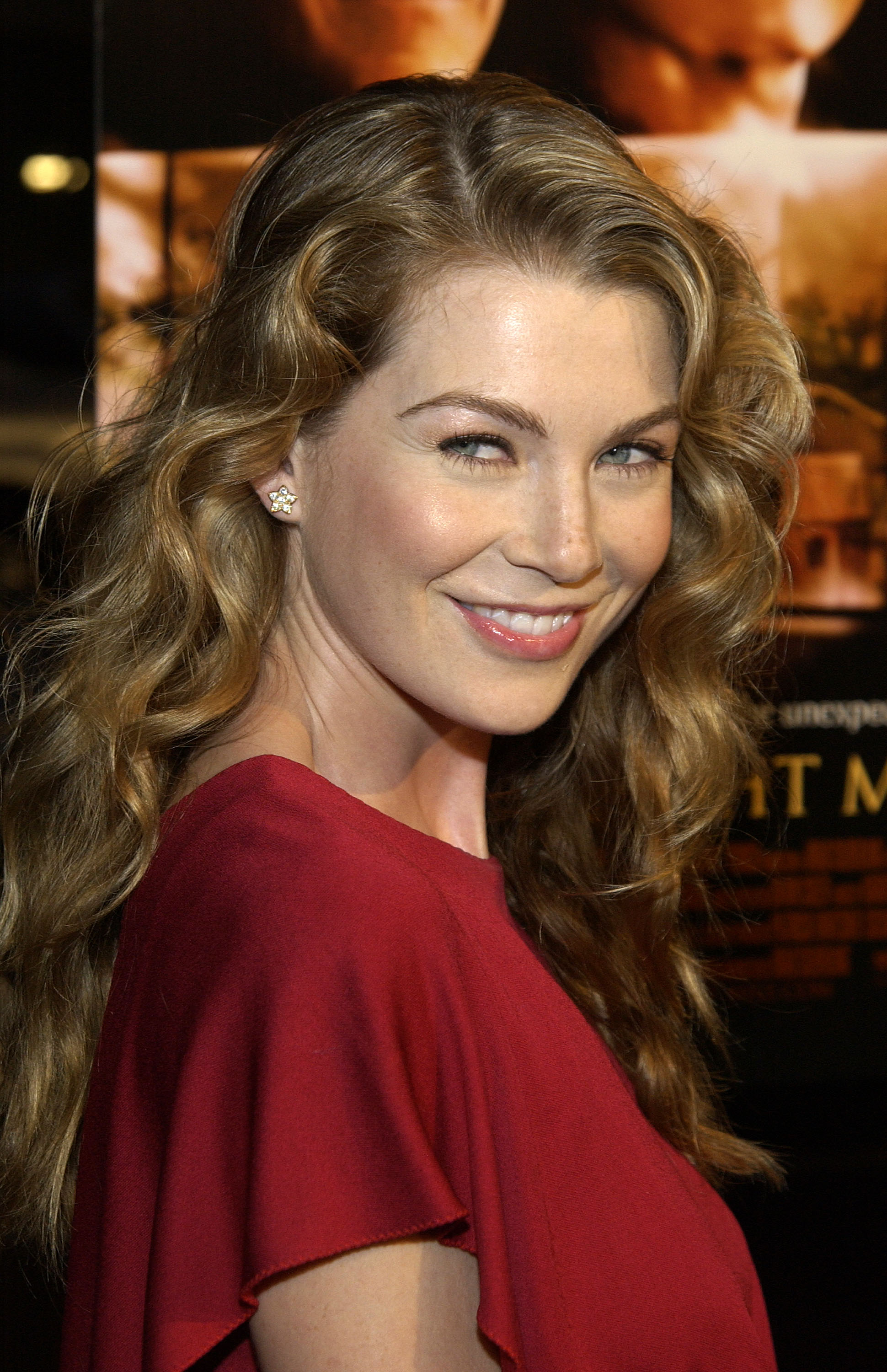 """Ellen Pompeo attends a benefit screening of Touchstone Pictures' """"Moonlight Mile"""" on September 24, 2002  