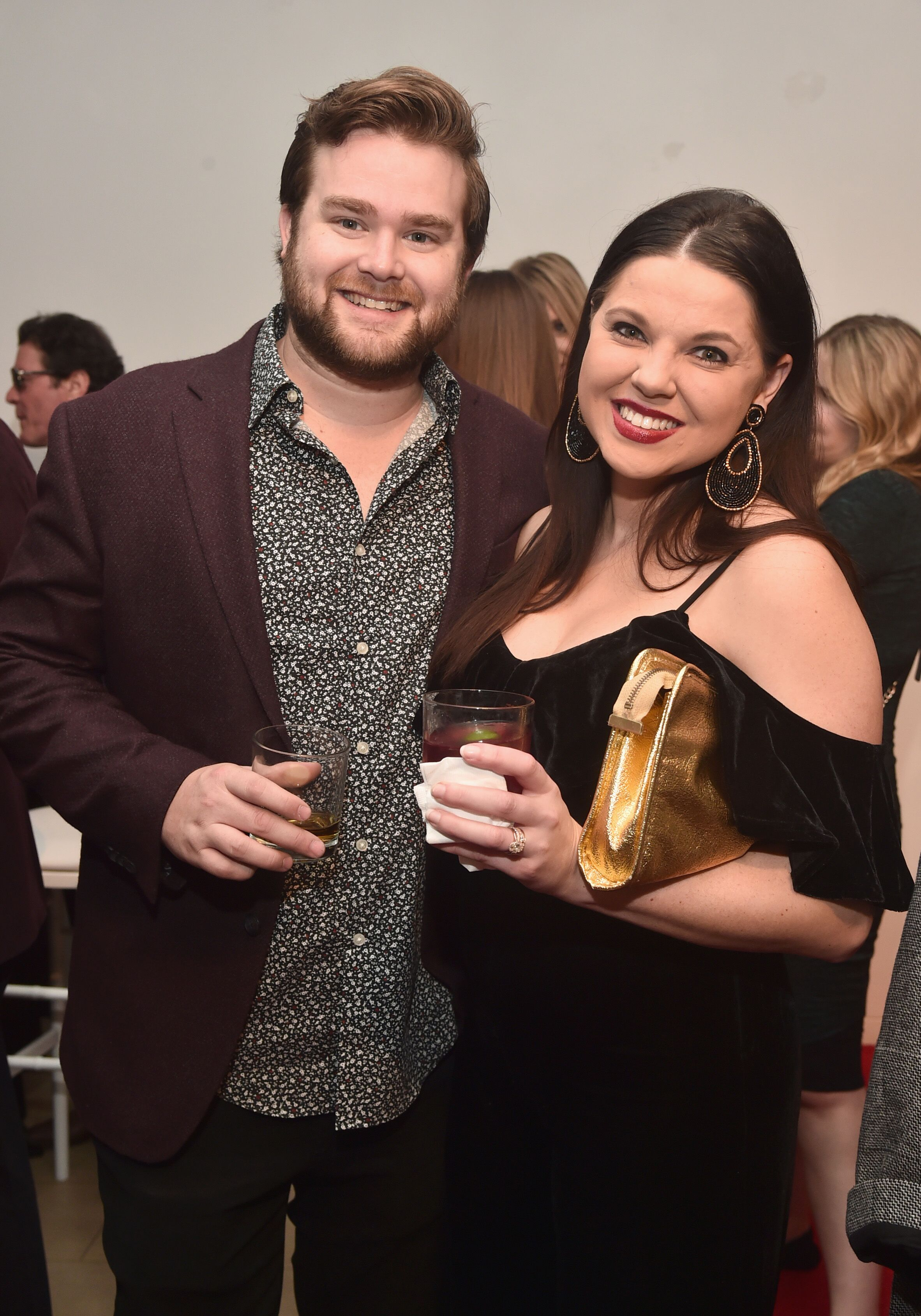 """Dillon King and Amy Duggar attend WE tv celebrates the return of """"Love After Lockup"""" with panel, """"Real Love: Relationship Reality TV's Past, Present & Future,"""" at The Paley Center for Media on December 11, 2018 in Beverly Hills, California 