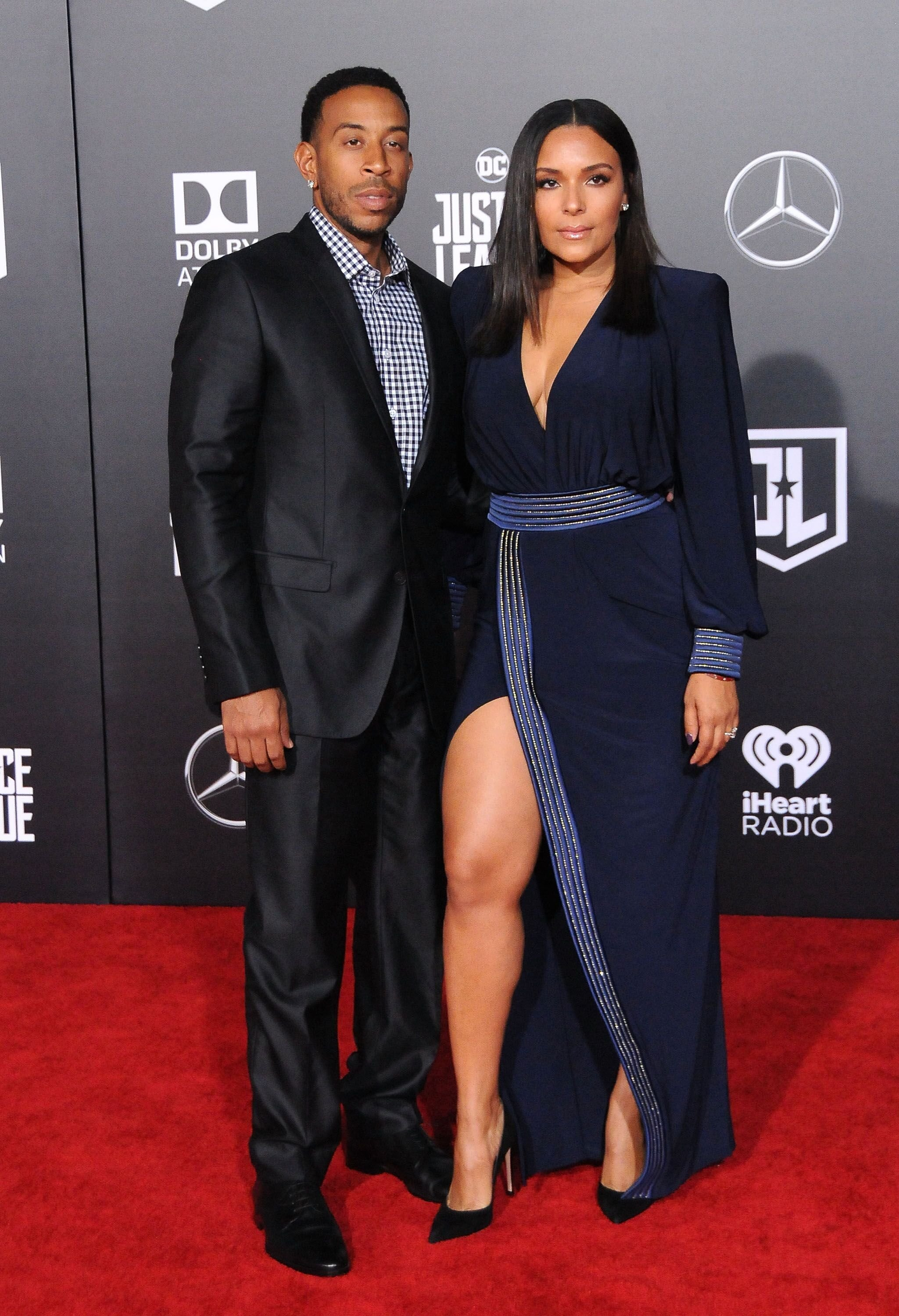 Rapper Ludacris and Eudoxie Mbouguiengue attend the premiere of Warner Bros. Pictures' 'Justice League' at Dolby Theatre on November 13, 2017 | Photo: Getty Images
