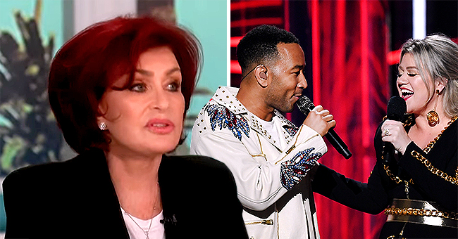 Sharon Osbourne Slams John Legend & Kelly Clarkson's Remake of  'Baby It's Cold outside' on 'the Talk'