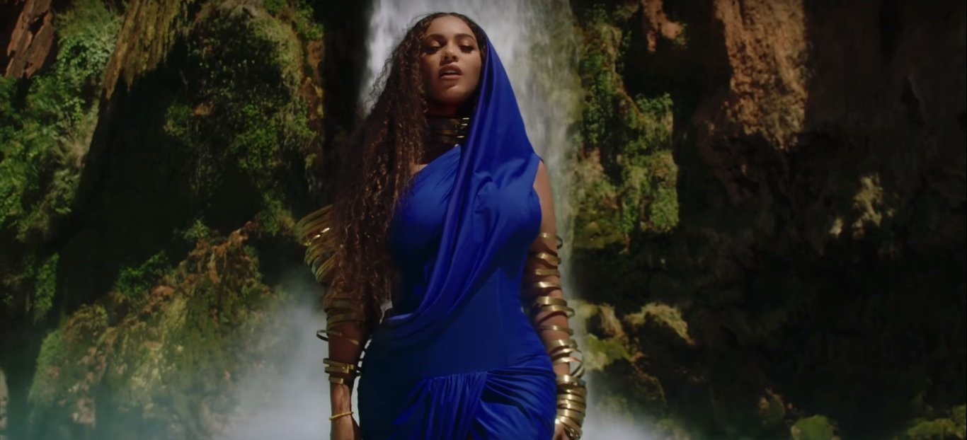"Source: YouTube / Beyoncé / Beyoncé, James Earl Jones - ""Spirit"" + ""Bigger"" (Extended cut from Disney's The Lion King)"