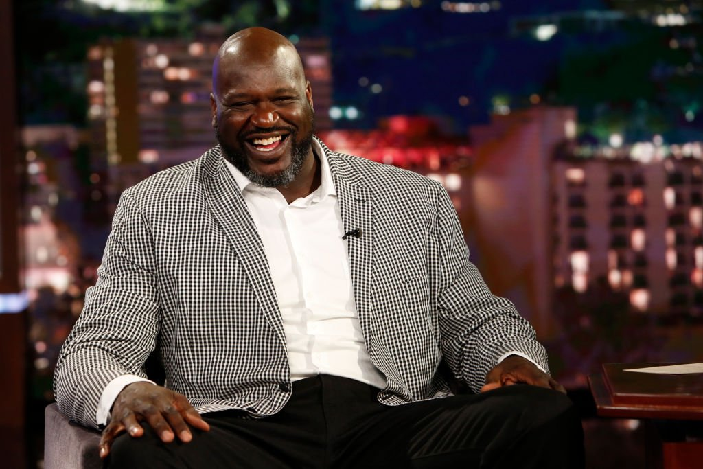 """Shaquille O'Neal on the set of """"Jimmy Kimmel Live!"""" on Tuesday, July 16, 2019.   Source: Getty Images"""