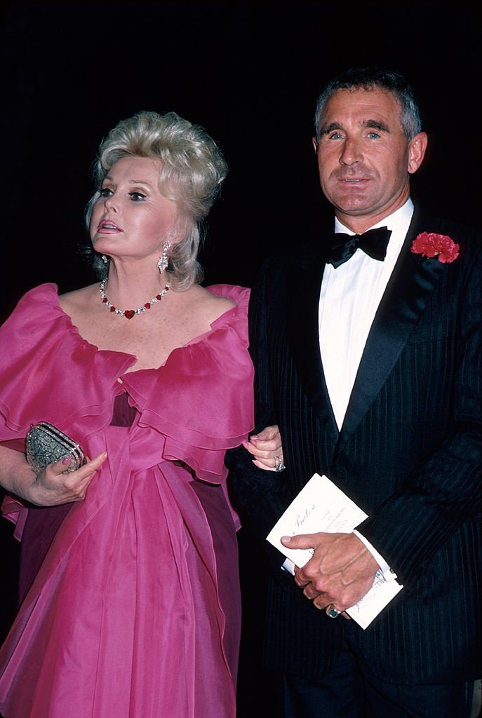 Zsa Zsa Gabor and Frederic Von Anhalt in Los Angeles, California, circa February 1988   Photo: Getty Images