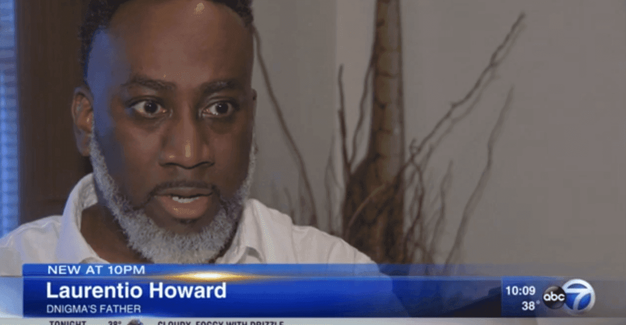Laurentio Howard speaking about the incident in an interview. | Photo: YouTube/ABC 7 Chicago