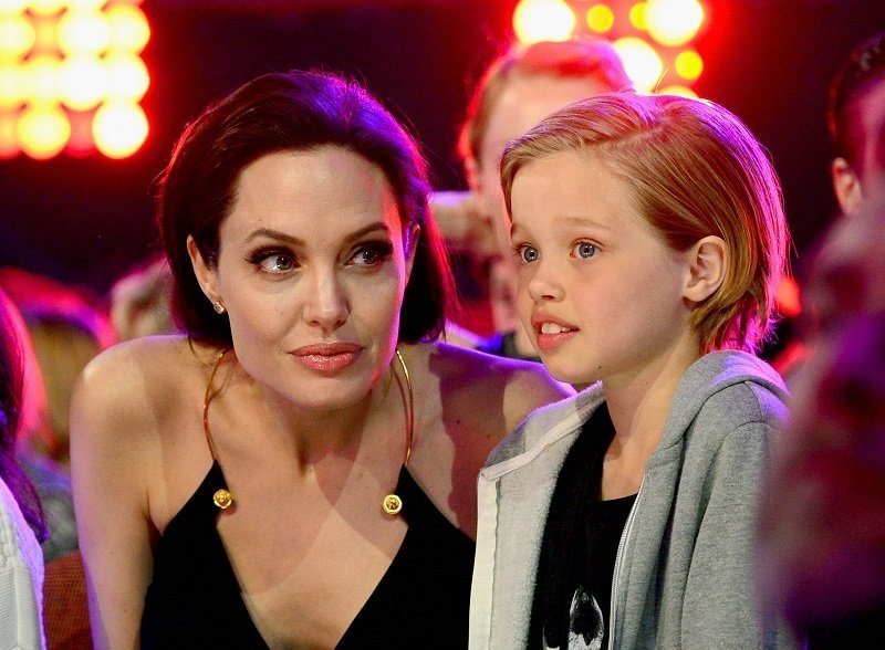 Angelina Jolie and her daugther Shiloh Jolie-Pitt I Image: Getty Images