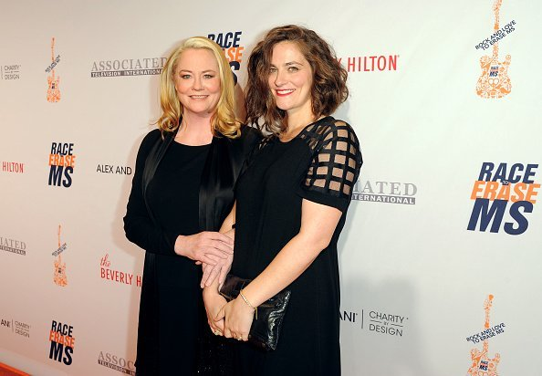 Cybill Shepherd and Clementine Ford at The Beverly Hilton Hotel on April 15, 2016 in Beverly Hills, California | Photo: Getty Images