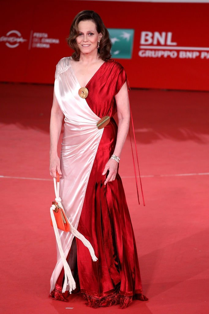 Sigourney Weaver walks the red carpet during the 13th Rome Film Fest at Auditorium Parco Della Musica | Getty Images