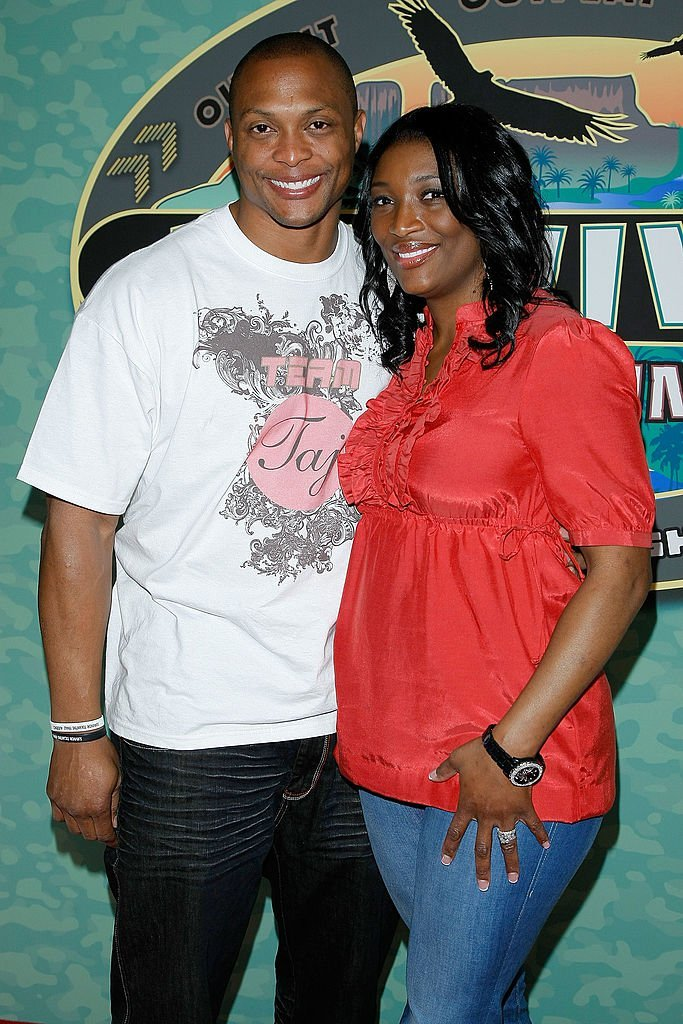 "Tamara ""Taj"" George & Eddie George at the finale of ""Survivor: Tocantins The Brazilian Highlands"" on May 17, 2009 in New York City 