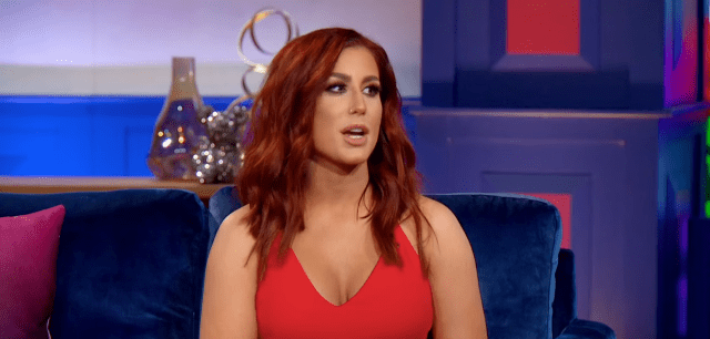 "Chelsea Houska during an interview for a ""Teen Mom 2"" reunion 