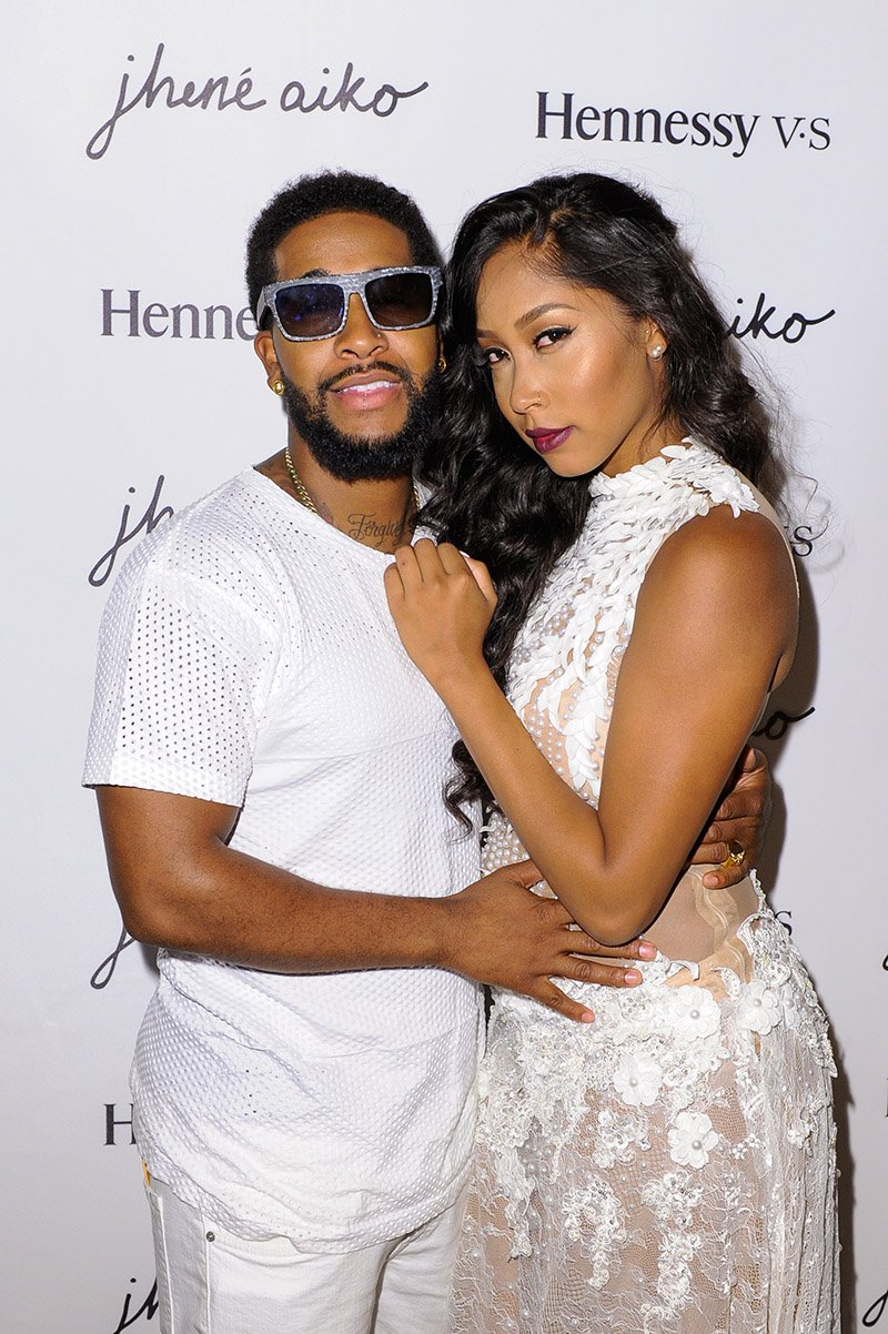 Omarion and Apryl Jones attend the Jhene Aiko Souled Out event on September 9, 2014 in West Hollywood, California. I Image: Getty Images.
