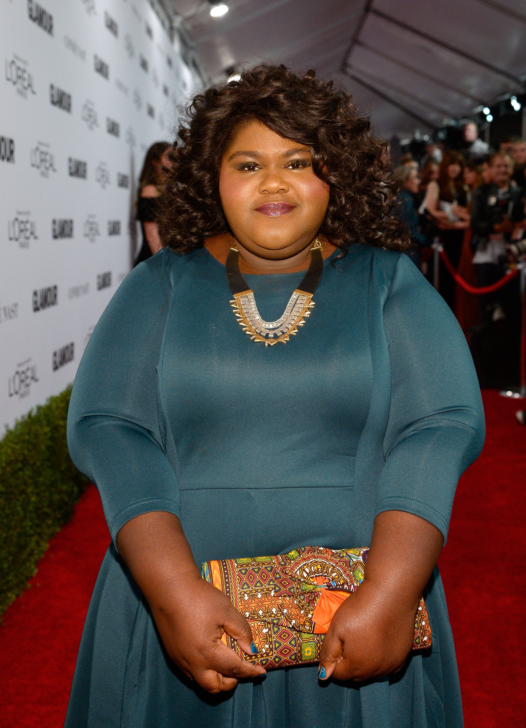 Gabourey Sidibe at Glamour Women of the Year 2016 , 2016. | Photo: Getty Images