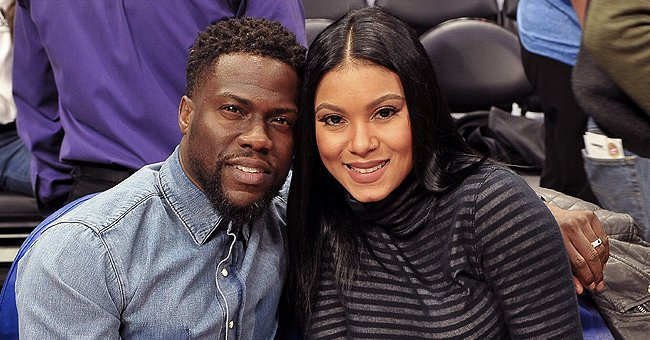 Kevin Hart & Eniko Mark Daughter Kaori Mai's 1-Month B-Day With Pic of Her With a Floral Wreath