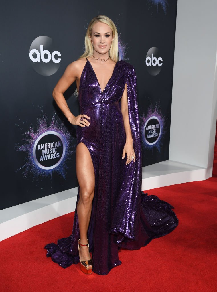 Carrie Underwood attends the 2019 American Music Awards on November 24, 2019, in Los Angeles, California. | Source: Getty Images.