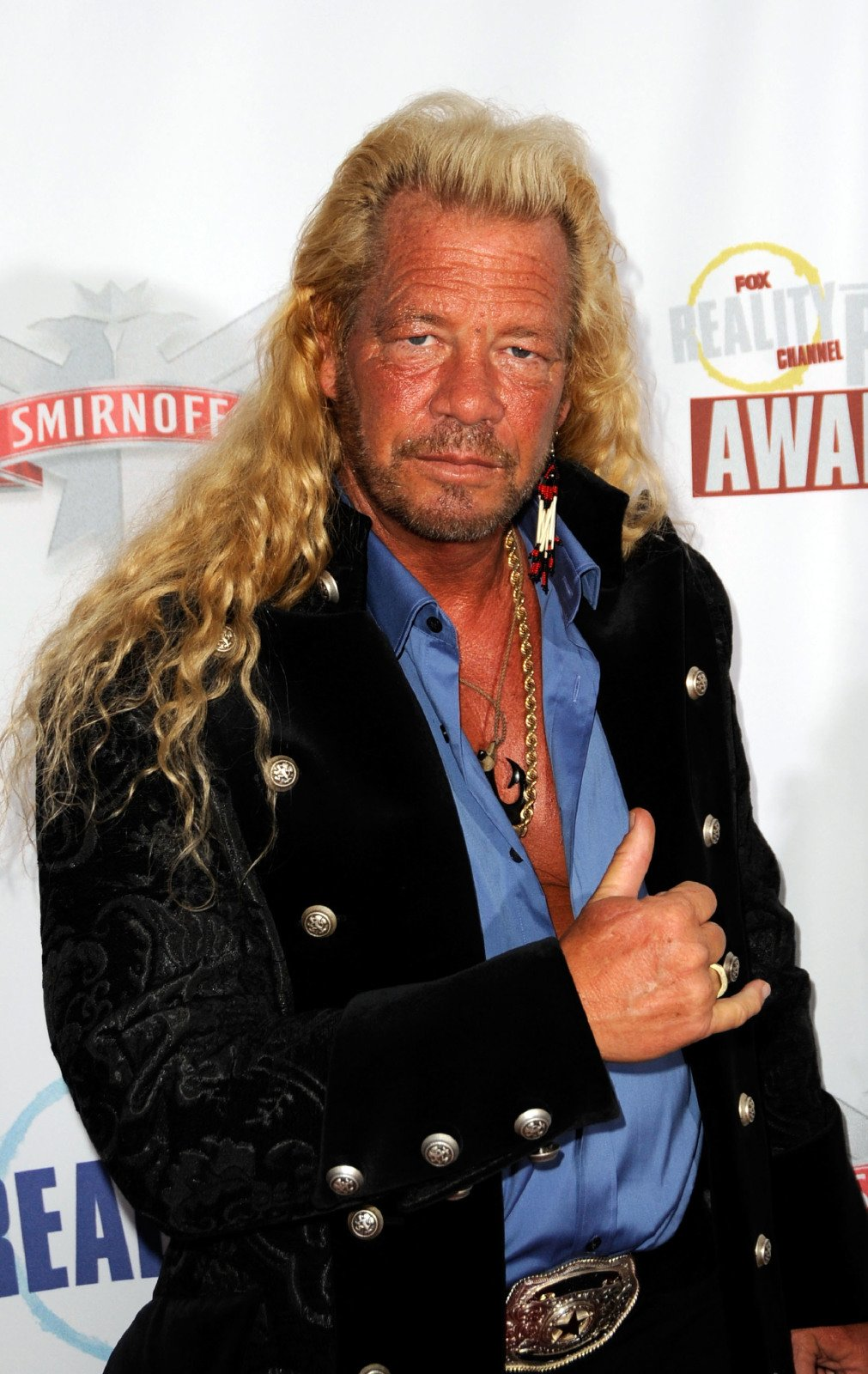 "Duane ""Dog"" Chapman arrives at the Fox Reality Channel Really Awards at the Avalon Hollywood club September 24, 2008 in Hollywood California 