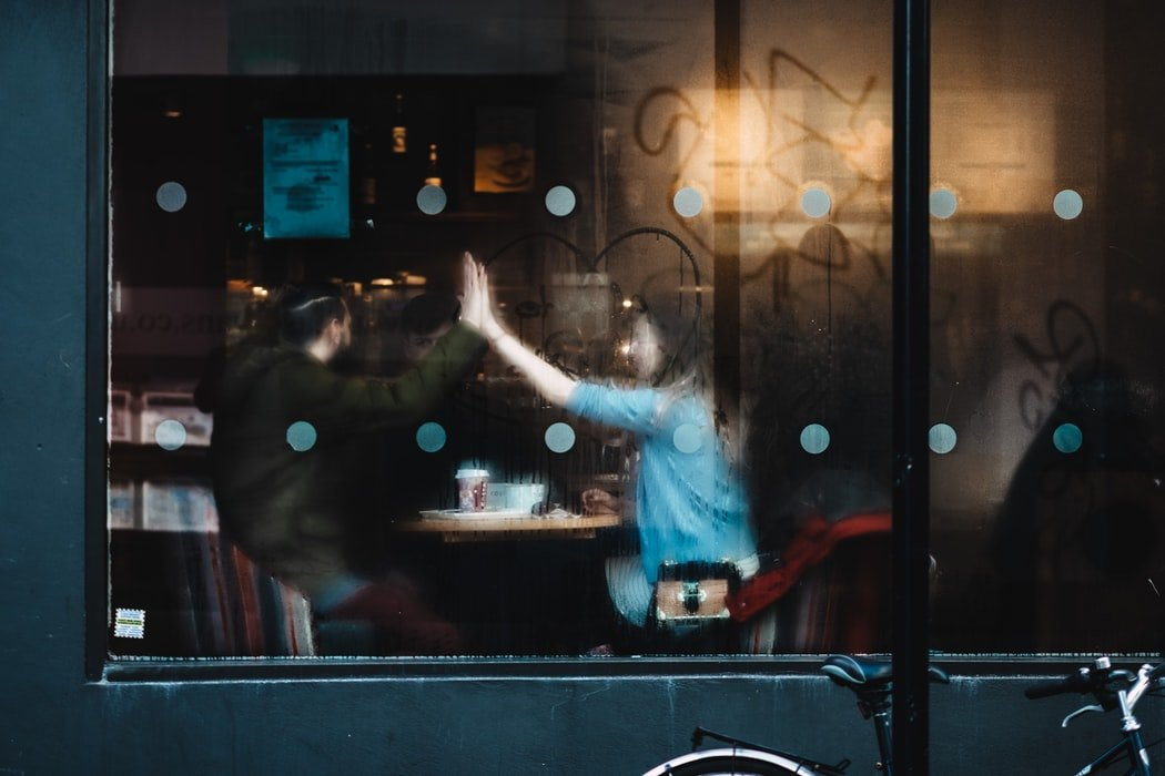 The unexpected meeting   Source: Unsplash