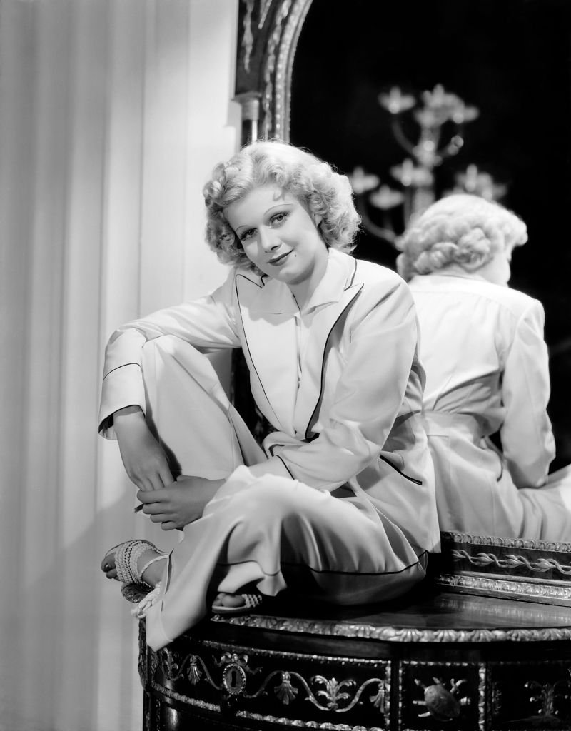 """Actress Jean Harlow in a scene from the movie """"Libeled Lady"""". 