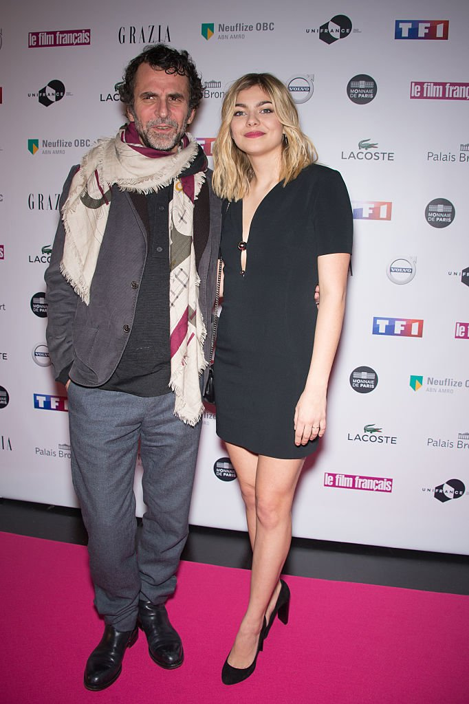 Eric Lartigau et Louane | source: Getty Image