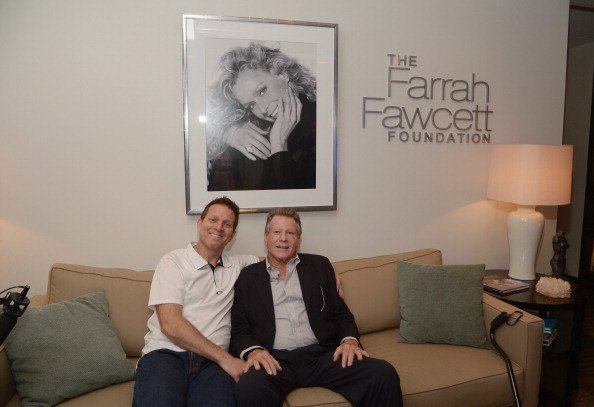 Patrick O'Neal and Ryan O'Neal at the Farrah Fawcett Foundation on June 25, 2014 in Beverly Hills, California. | Photo: Getty Images