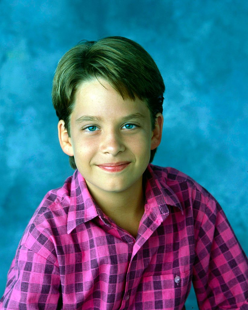 """Brice Beckham on the set of """"Mr. Belvedere"""" on August 29, 1988   Photo: Getty Images"""