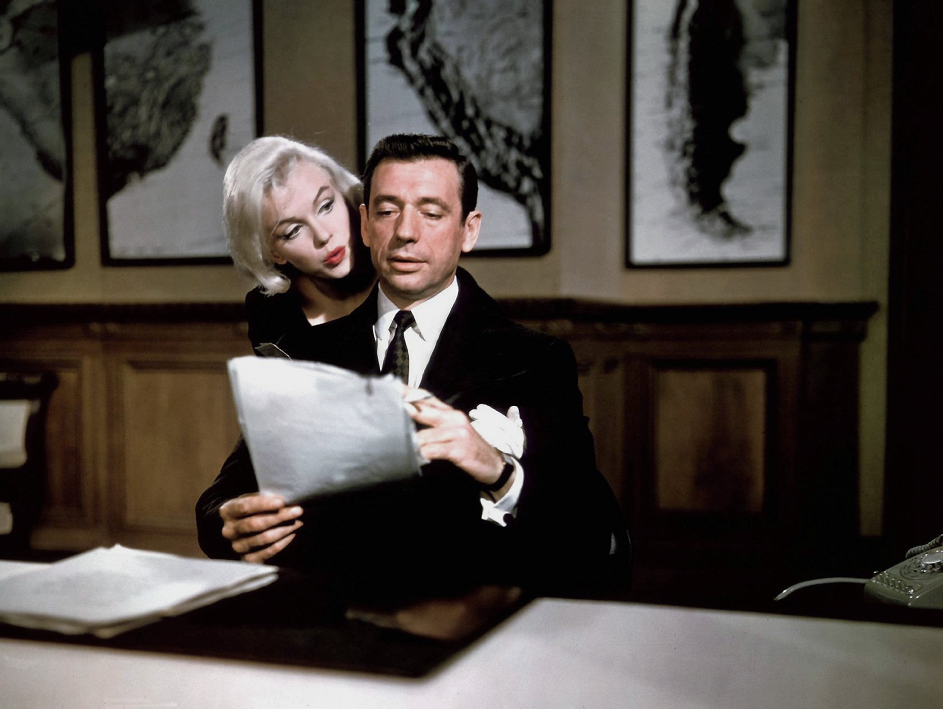 Yves Montand et Marilyn Monroe | photo  : Getty Images