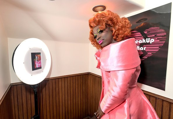 """Bob the Drag Queen attends the Netflix Film """"The Breaker Upperers"""" x The Break Up Bar Karaoke Valentines at the Break Up Bar on February 14, 2019, in Los Angeles, California. 