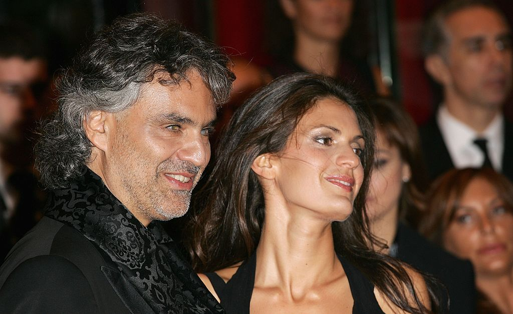 Andrea Bocelli and Veronica Berti in 2004 | Source: Getty Images