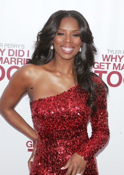 Tasha Smith at the School of Visual Arts Theater in New York City.| Photo: Getty Images.