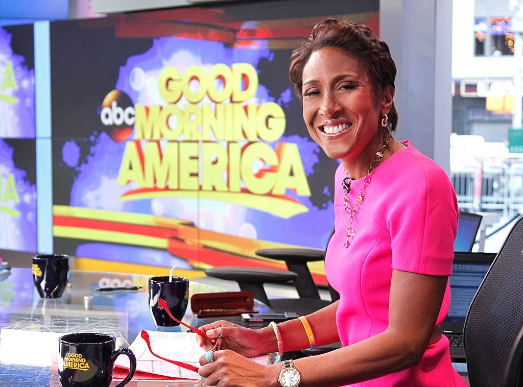"""Robin Roberts on """"Good Morning America,"""" 4/16/15