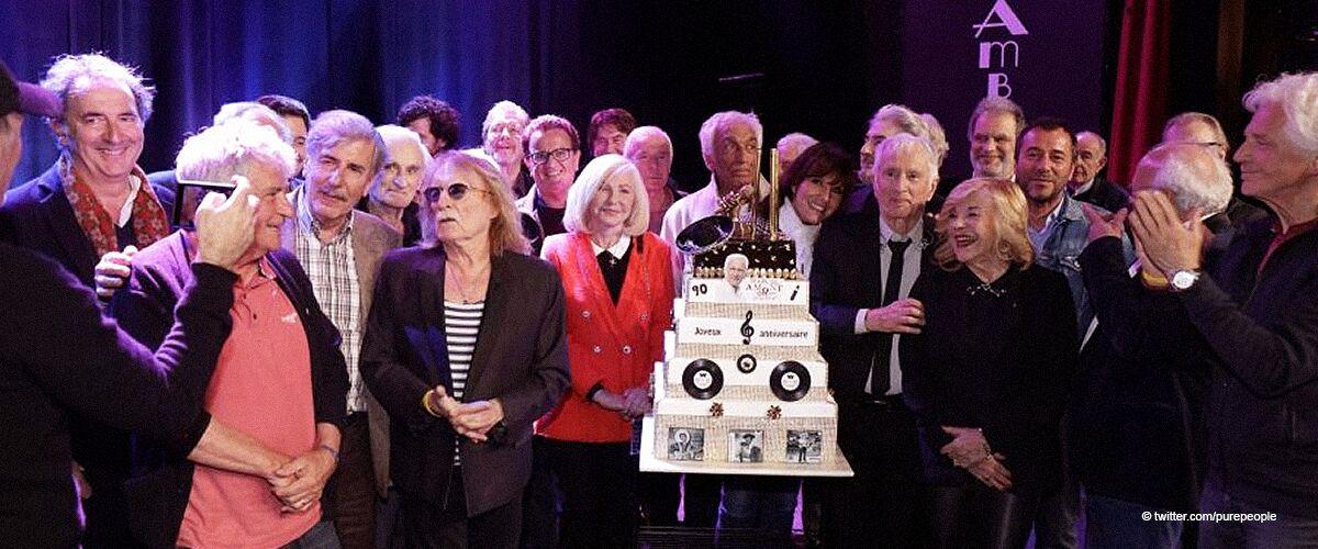 Marcel Amont fête ses 90 ans : des célébrités réunies pour une touchante célébration (photos)