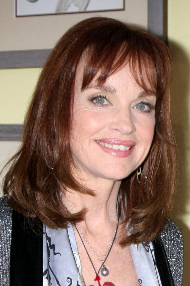 Pamela Sue Martin at the Home and Family Show taping at a Universal Lot | Shutterstock