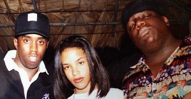 P Diddy Posts Iconic Throwback Photo with Notorious BIG & Aaliyah — Here's How Fans Reacted