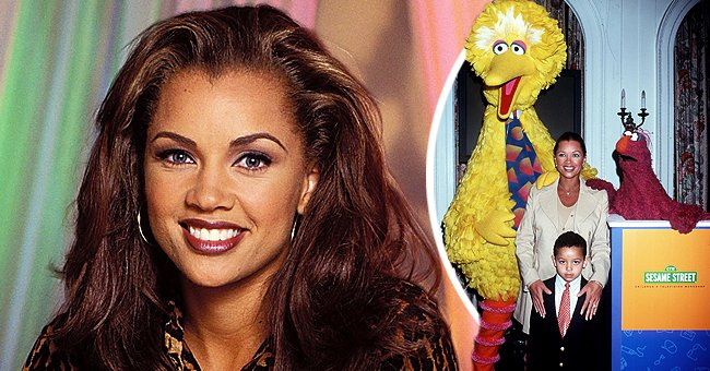 A picture of Vanessa Williams and her son, Devin Hervey | Photo: Getty Images