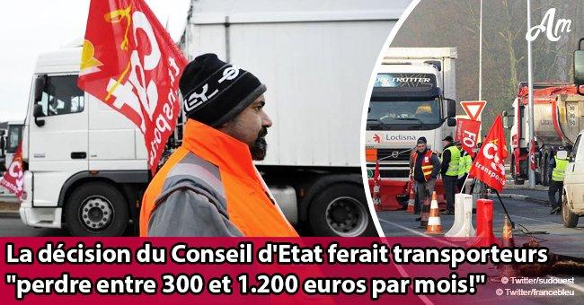 """""""Réunion d'urgence"""": La CGT et la FO appellent les camionneurs à la grève à partir de dimanche soir"""