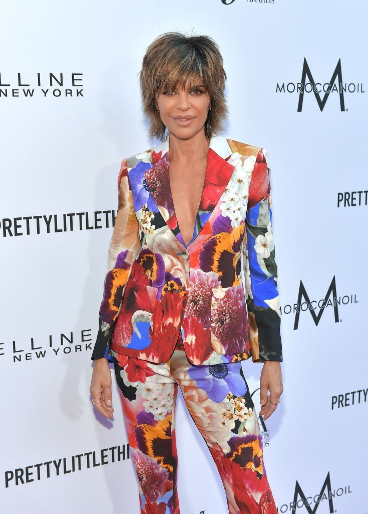 Lisa Rinna on April 8, 2018 in Beverly Hills, California | Photo: Getty Images