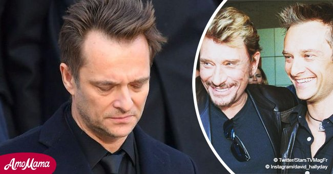 David Hallyday est convaincu que son père montre des signes de sa présence près de lui.