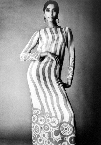 Donyale Luna en una fotografía de Richard Avedon, tomada en 1966. | Imagen: Flickr