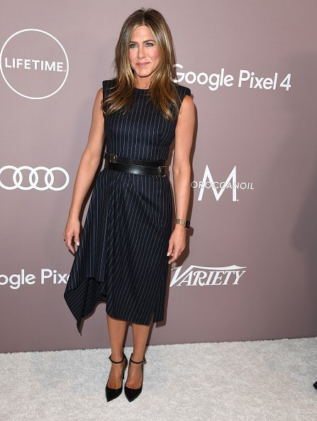 Jennifer Aniston arrives at the Variety's 2019 Power Of Women: Los Angeles Presented By Lifetime at the Beverly Wilshire Four Seasons Hotel  | Photo: Getty Images