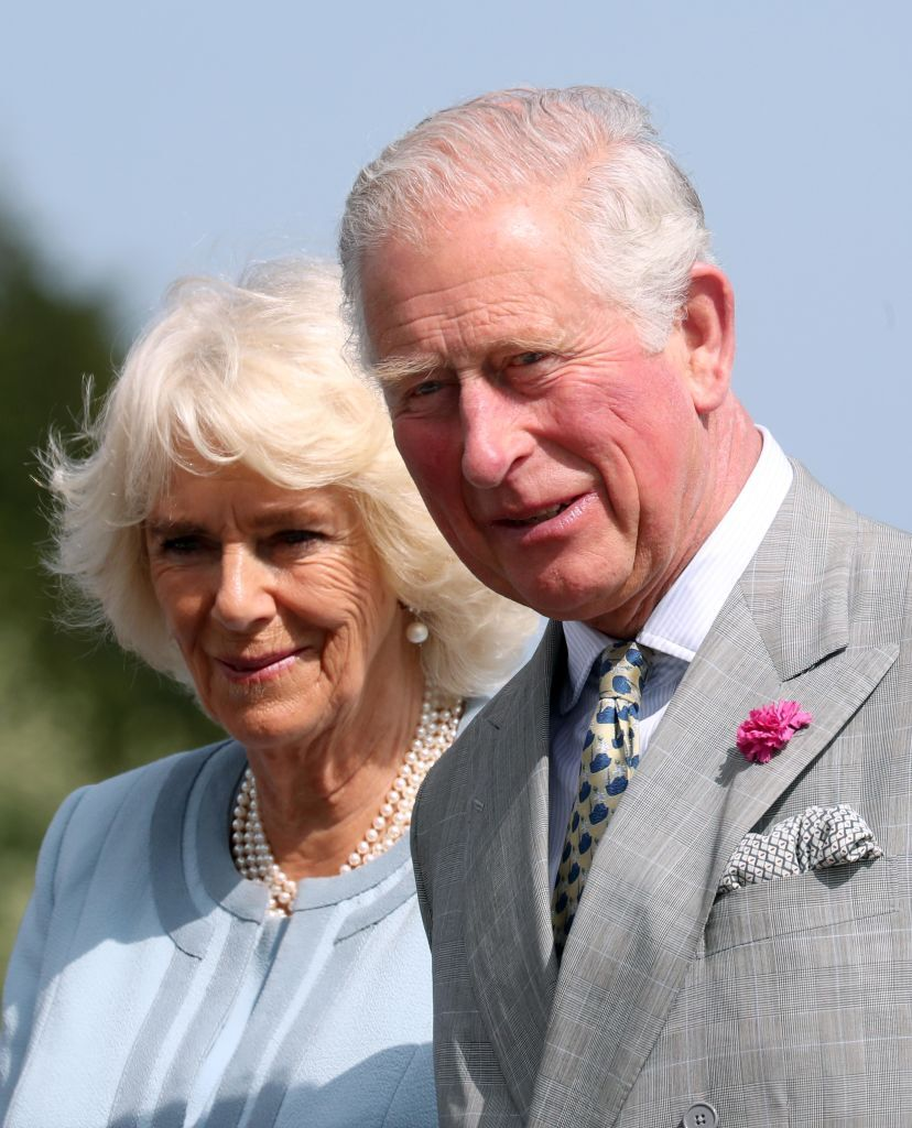 Prince Charles, Prince of Wales and Camilla, Duchess of Cornwall at a civic reception. | Source: Getty Images